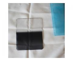 Ensemble Holder+bagues 58/77mm +Filtres Resin Lee et Hitech ND 0.6, 0.75, 0.9,1.2