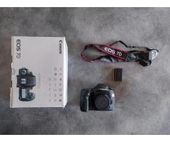 Canon EOS 7D avec peu de déclenchements