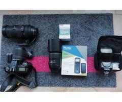 Nikon D7100 + 18/140 + EN_EL15 + GP1 + Sigma 120/400mm à réparer