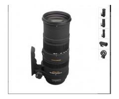 Tele objectif -Sigma 150-500mm f5-6,3 dg os canon