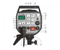 Kit Pro Studio de 2 flashs Elinchrom Style RX 1200