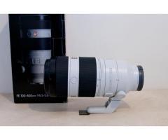 Objectif Sony FE 100-400 F4-5,6 GM OSS