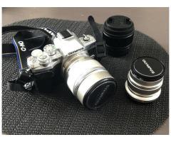 Olympus EM10 Mk III + 12mm 2.0 + 25mm 1.7 + 75mm 1.8