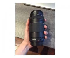 Objectif Canon EF 75-300mm f/4-5.6 / parfait état