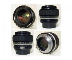 Nikon F ,F2,F3...Nikkor 50/1,2