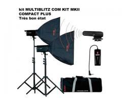 Kit éclairage studio MULTIBLITZ COMPACT PLUS MKII
