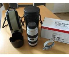 Objectif Canon EF 70-200mm f/2.8 L IS II