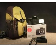 Canon EOS 760D Nu + Batterie en supp. + Sac à dos