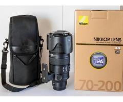 Vds Objectifs Nikon 70x200 f2.8 G ED VR II
