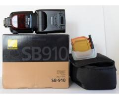 Nikon flsh SB 910