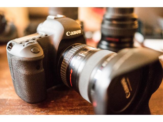 Canon 6D avec Objectifs et accessoires