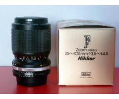ZOOM NIKON 35-105mm f/3.5 - 4.5