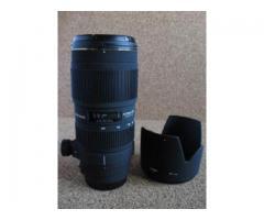Vends 70-200 mm f/2,8 Sigma pour Canon