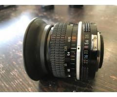 Objectif Nikon 28 f3.5