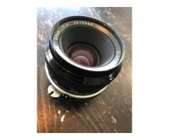 Objectif Nikon 50 f2
