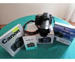 CANON EOS7D + Objectif et accessoires