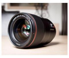 Objectif 35 mm 1.4 L version ii - garanti jusque fin 2019
