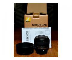 Objectif NIKKOR 50mm f/1.8G