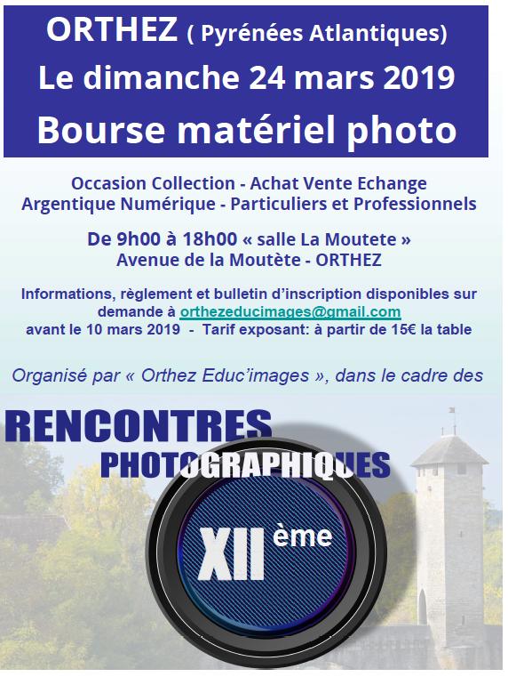 Bourse matériel photo d'Orthez