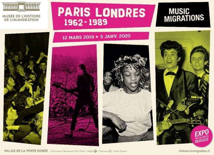 Paris-Londres, music migrations 1962-1989