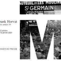 Frank Horvat, Paris années 50